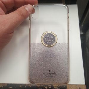"""Case kate spade for iphone xs max 6.5"""" clear-gray"""
